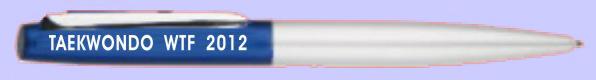 Образцы продукции- ручки и другие предметы