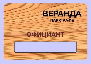 Образцы продукции - Бейджи (Bages)