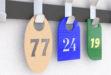 """История появления и становления гардеробных номерков. Производство номерков в г. Тольятти, компанией """"Кардинал""""."""