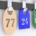 История появления и становления гардеробных номерков. Производство номерков в г. Тольятти, компанией «Кардинал».