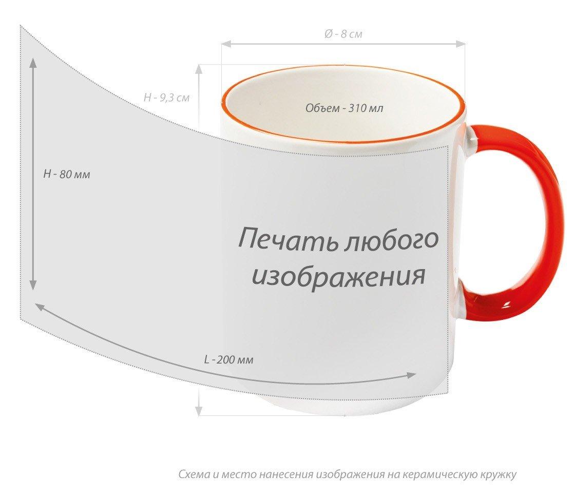 Сублимациянакружках. Полноцветная печать кружек с фото и логотипом в Тольятти.